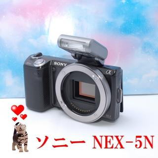 SONY - 【極美品】SONYソニー NEX-5N ボディ ブラック