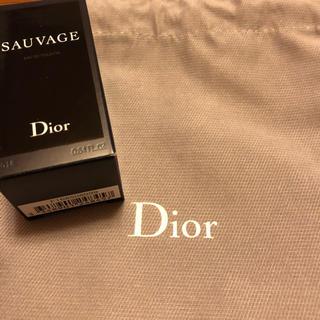 ディオール(Dior)のDIOR SAUVAGE 10ml(その他)