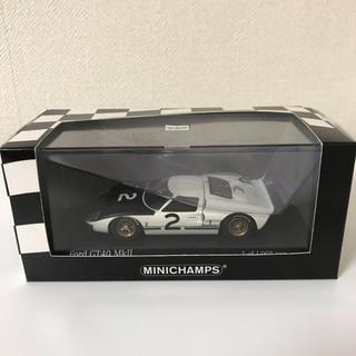 MINICHAMPS Ford GT40Mkll LeMans Test1966(ミニカー)