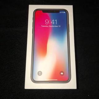 アップル(Apple)のiPhonex 64ギガ(スマートフォン本体)