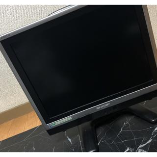 週末に売り切り SHARP 液晶テレビ 美品(テレビ)