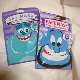 ディズニー(Disney)のディズニー 美容パック マスク ジーニー サリー(パック / フェイスマスク)