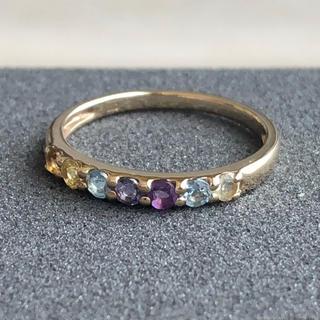 Coffret a Bijoux アミュレットリング K10 6号(リング(指輪))