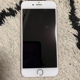 エーユー(au)のiPhone6sローズゴールド16G au(スマートフォン本体)