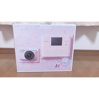 キヤノン(Canon)のCanon EOS M 100 PINK(ミラーレス一眼)