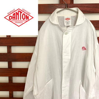 ダントン(DANTON)のDANTON ダントン 白シャツ ロングシャツ(シャツ)