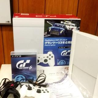 E37704スターターパック/6同梱版グランツーリスモPS3(家庭用ゲーム本体)