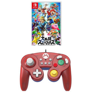 ニンテンドースイッチ(Nintendo Switch)の大乱闘スマッシュブラザーズ SPECIAL ホリコントローラー付属(家庭用ゲームソフト)