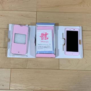 ディズニー(Disney)のディズニーモバイル docomo DM-01J pink (スマートフォン本体)