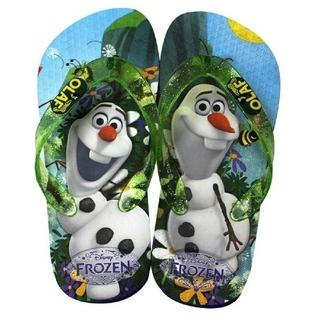 ディズニー(Disney)のアナ雪 オラフビーチサンダル 新品 20cm(サンダル)