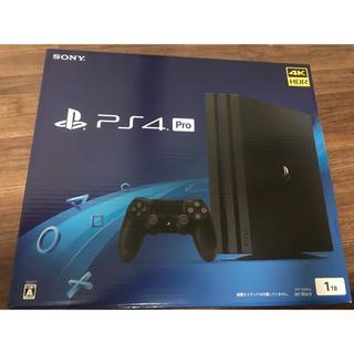 プレイステーション4(PlayStation4)の新品 未開封 ps4pro CUH-7200B 1TB 本体(家庭用ゲーム本体)
