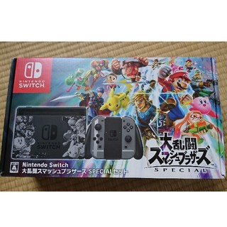 ニンテンドースイッチ(Nintendo Switch)の【本体なし】Switch スマブラ 限定本体(家庭用ゲーム本体)