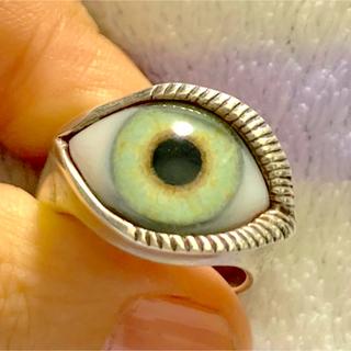 クレイジーピッグ(CRAZY PIG)のクレイジーピッグ ラッシュアイリング 義眼 指輪(リング(指輪))