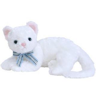 TY  Beanie Buddy - STARLETT 白い猫(ぬいぐるみ)