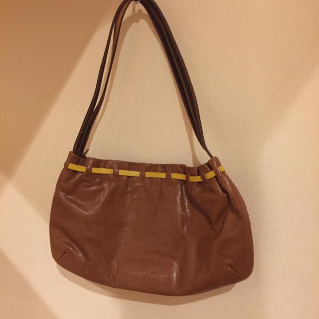 miumiu(ミュウミュウ)の【美品】miu miu ショルダーバッグ レディースのバッグ(ショルダーバッグ)の商品写真