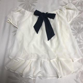 イング(INGNI)のイング/シフォントップス(シャツ/ブラウス(半袖/袖なし))