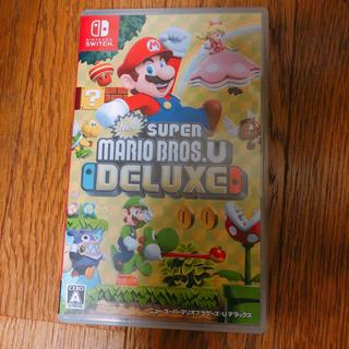 ニンテンドースイッチ(Nintendo Switch)のNew スーパーマリオブラザーズ U デラックス(家庭用ゲームソフト)