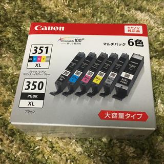 キヤノン(Canon)の[MOFU様専用]キャノン インク BCI351XL350XL/6MP(PC周辺機器)