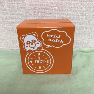 え〜パンダ 腕時計 西島隆弘 リストウォッチ 橙 AAA(ミュージシャン)