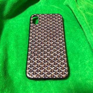 ゴヤール(GOYARD)の新品 iPhone x 10用ケース  ブラック(iPhoneケース)