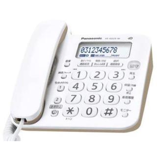 パナソニック(Panasonic)のパナソニック 電話機 親機のみ 新品(OA機器)