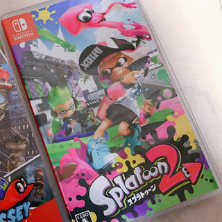 ニンテンドースイッチ(Nintendo Switch)の【美品】スプラトゥーン2(家庭用ゲームソフト)