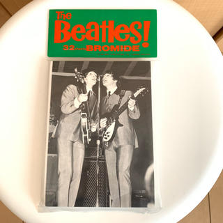 未開封 The Beatles! 32sheets bromide(ミュージシャン)