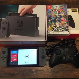 ニンテンドースイッチ(Nintendo Switch)のニンテンドースイッチ スマブラSP ホリパッド(家庭用ゲーム本体)