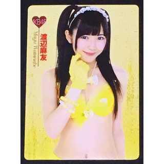 ★非売品★AKB48 渡辺麻友(まゆゆ)リバーシブル下敷き(アイドルグッズ)