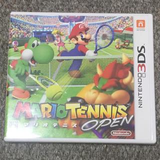 ニンテンドー3DS(ニンテンドー3DS)のマリオテニスオープン(携帯用ゲームソフト)