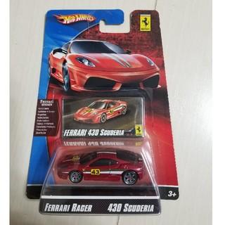 未開封Hot Wheels Ferrari RACER 430 SCUDERIA(ミニカー)