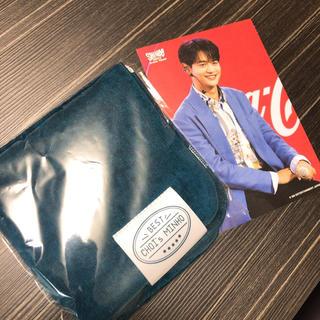 シャイニー(SHINee)のミンホ♡ハンドタオル&ポストカードセット 来場者特典 ミノ (アイドルグッズ)