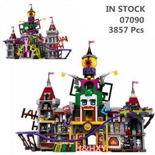 LEPIN社 3857ピース スーパーヒーロー ジョーカー 城 レゴブロック互換(模型/プラモデル)