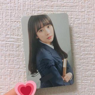 宇宙少女 ソラ サイン入りトレカ(アイドルグッズ)