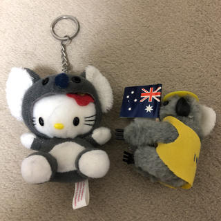 ハローキティ(ハローキティ)のオーストラリア キティコアラ セット(キャラクターグッズ)