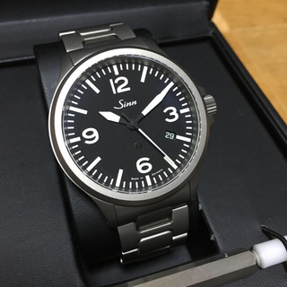 シン(SINN)のSINN 856 テギメント 未使用 ジン 定価34万(腕時計(アナログ))