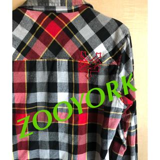 ズーヨーク(ZOO YORK)の☆ZOOYORK☆ ネルシャツ メンズ S (シャツ)