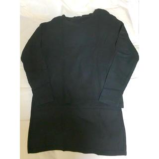 ジーユー(GU)の長袖 Vネック(Tシャツ(長袖/七分))