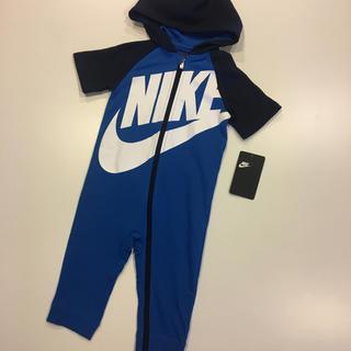 ナイキ(NIKE)のNIKE Big Swoosh ナイキ カバーオール ジャンプスーツ 18M(カバーオール)