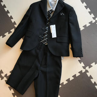 1f8ae354c77be 「卒園式 入学式 男の子 フォーマル 120」に近い商品. AEON - 新品タグ付き スーツ5点セット 110センチ
