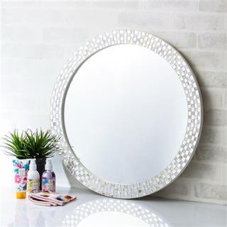 フランフラン(Francfranc)のフランフラン ウォールミラー シェル 鏡(壁掛けミラー)