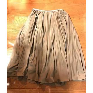 グーコミューン(GOUT COMMUN)のプリーツスカート(ひざ丈スカート)