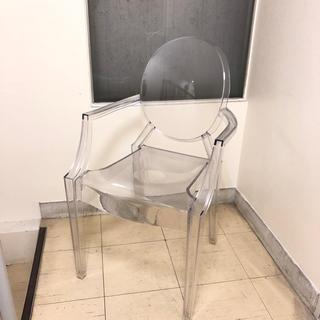 カルテル(kartell)の美品 kartell カルテル Louis Ghost ルイゴースト チェア椅子(ダイニングチェア)