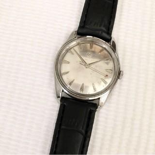 シーマ(CYMA)のCYMA シーマ 17石 ビンテージ メンズ手巻き腕時計 稼動品 SWISS製(腕時計(アナログ))