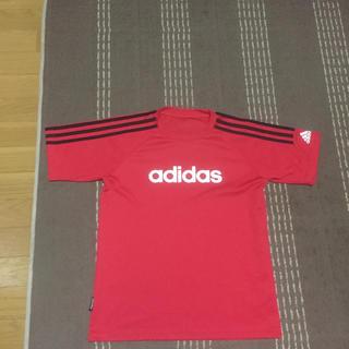 アディダス(adidas)のアディダス 半袖シャツ(Tシャツ/カットソー(半袖/袖なし))