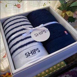 シップス(SHIPS)のSHIPS ⚓️ 今治フェイスタオル(タオル/バス用品)