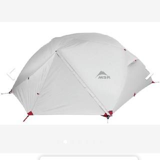 エムエスアール(MSR)のMSR テントエクリサー4 美品 フットプリント付(テント/タープ)