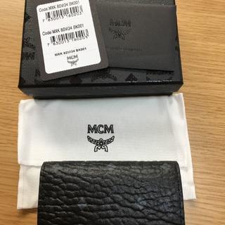 エムシーエム(MCM)のS様専用 MCMエム シー エム★ブラック キーケース専用BOX付き(キーケース)