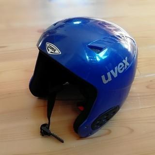 uvex ジュニアスキー用 ヘルメット(59~60㎝)(その他)