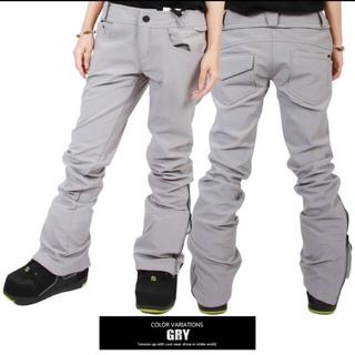 volcom - volcom battle stretch pants グレー Mサイズ
